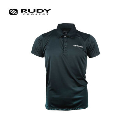 Picture of Rudy Project Apparel Drifit Polo Shirt Target Black Medium