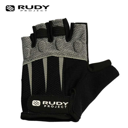Picture of Rudy Project Bike Gloves in Black and Grey Medium