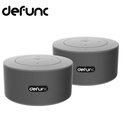 Picture of Defunc Speaker Bluetooth Duo Silver