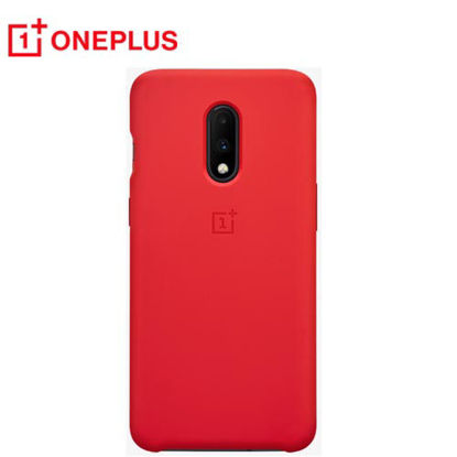 Picture of Oneplus Pro Protective Silicone Op7 Red