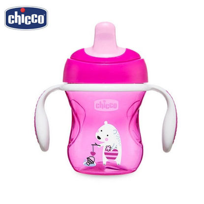 Picture of Chicco Training Cup 6M+ PinkBear