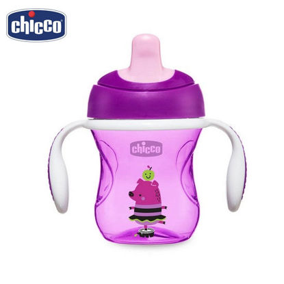 Picture of Chicco Training Cup 6M+ PurplePig