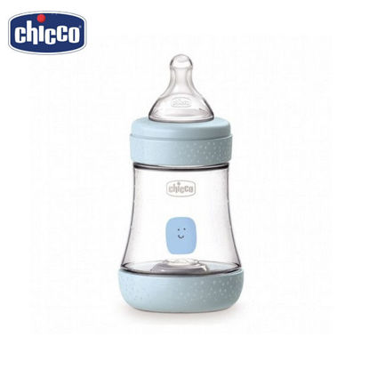 Picture of Chicco Perfect 5 Baby Bottle 150ml - Slow Flow (Blue)