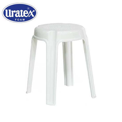 Picture of Uratex Monoblock 201 Stool Marble White