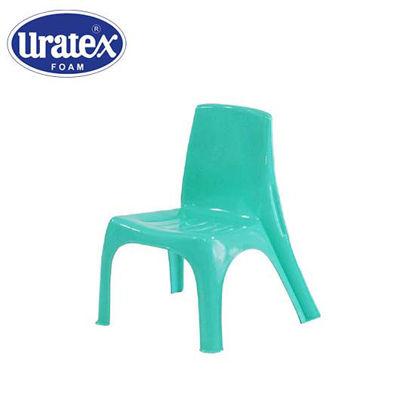 Picture of Uratex Monoblock 3801 Kiddie Chair Marble Mint Green