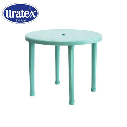 Picture of Uratex Monoblock 601 Round Table Marble Mint Green