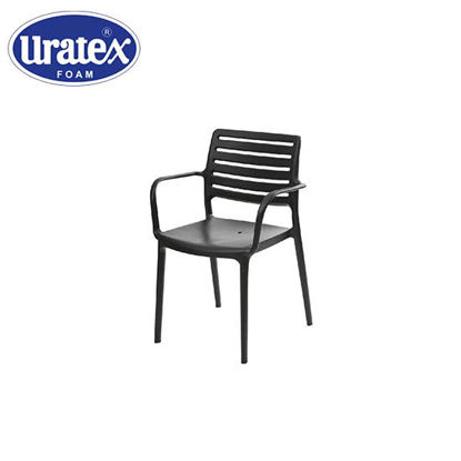 Picture of Uratex Monoblock Olympia Armchair Black