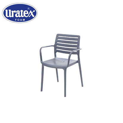 Picture of Uratex Monoblock Olympia Armchair Gray