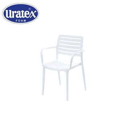 Picture of Uratex Monoblock Olympia Armchair White