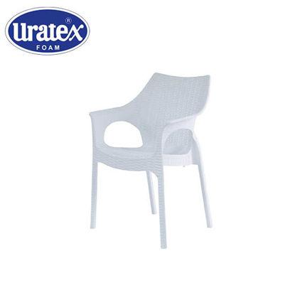 Picture of Uratex Monoblock Belleza Armchair White