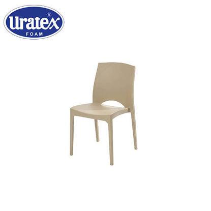 Picture of Uratex Monoblock Brooklyn Chair Beige