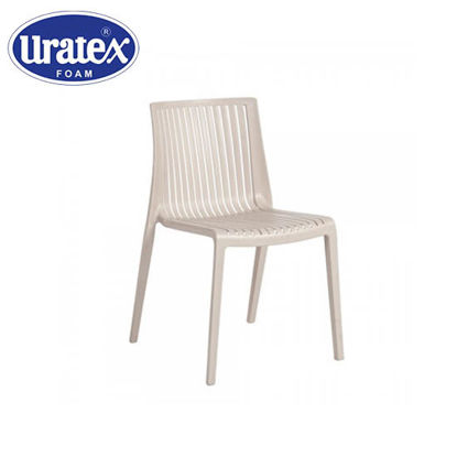Picture of Uratex Monoblock Charlotte Bistro Chair Beige