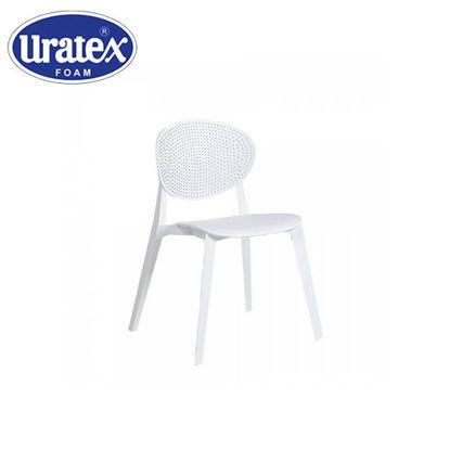 Picture of Uratex Monoblock Aversa Chair White