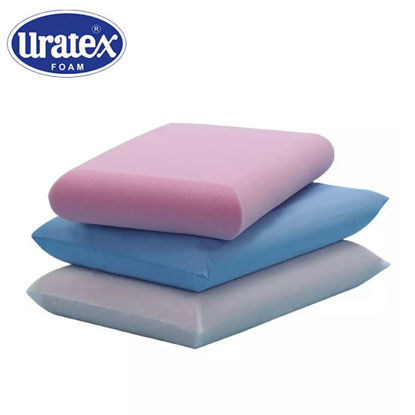 Picture of Uratex Permasoft 4 x 15 x 24 Blue