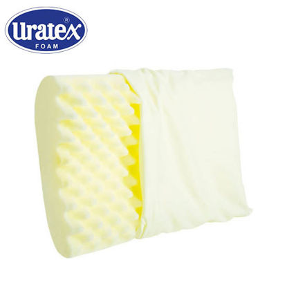 Picture of Uratex Contour Plus 5 x 15 x 21.5 (Standard) Yellow
