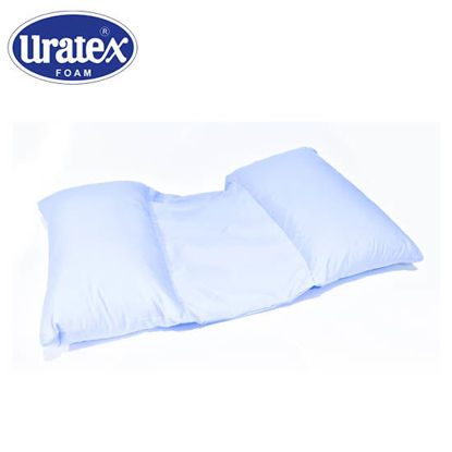 Picture of Uratex Luvina Back Support Maternity PIllow Blue