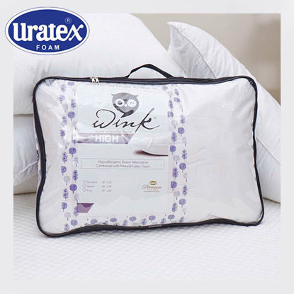 Picture of Uratex Wink High 20 x 36 (King) White