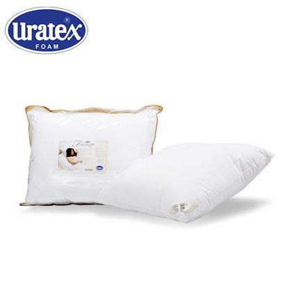 Picture of Uratex Fibersoft Pillow 14 x 24 (Travel) White