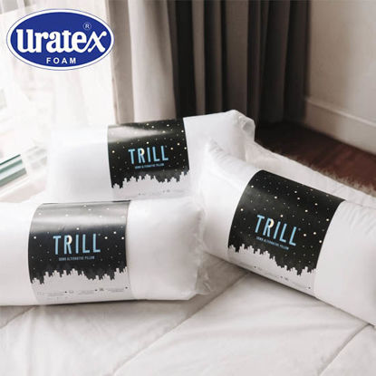 Picture of Uratex Trill Down Alternative Pillow 20 x 36 (King) White