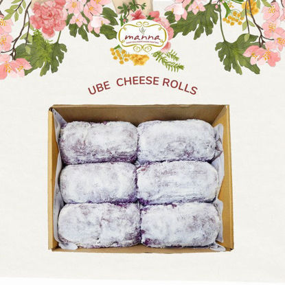 Picture of Manna Ube Cheeseroll