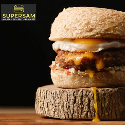 Picture of SuperSam Chori Burger