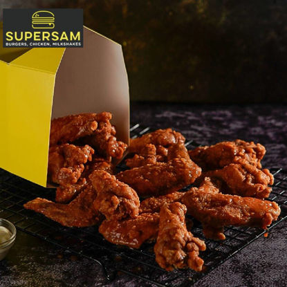Picture of SuperSam Super Buffalo Chicken Wings 6 pcs
