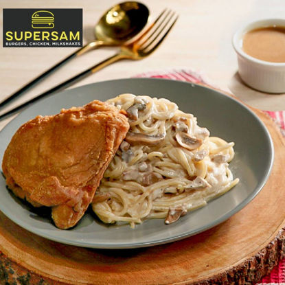 Picture of SuperSam Sam's 1pc Chicken w/ Alfredo