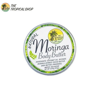 Picture of The Tropical Shop Natural Moringa Body Butter 100g