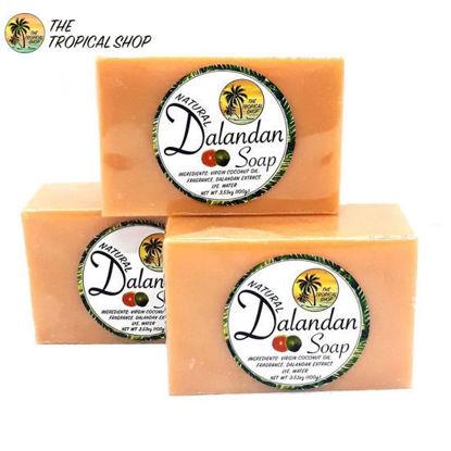 Picture of The Tropical Shop Natural Dalandan Soap Set of 3