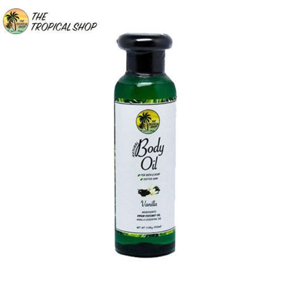 Picture of The Tropical Shop Natural Body Oil Vanilla 100ml