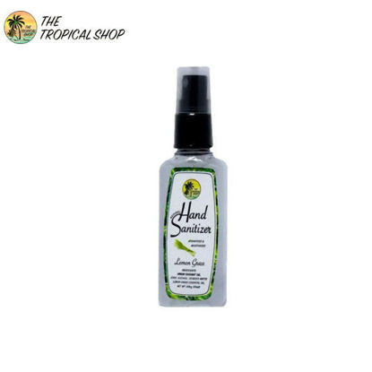 Picture of The Tropical Shop Natural Hand Sanitizer Lemongrass 50ml