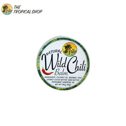 Picture of The Tropical Shop Natural Wild Chili Balm 40g
