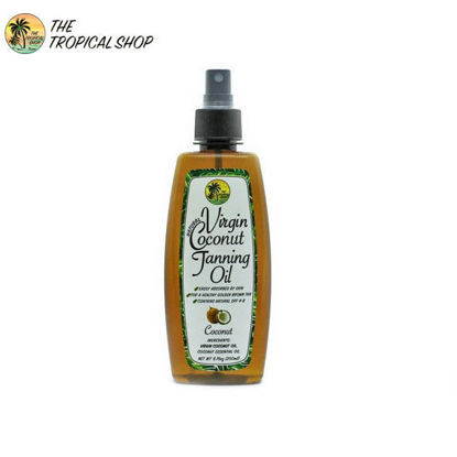 Picture of The Tropical Shop Natural Virgin Coconut Tanning Oil 200ml