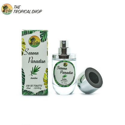 Picture of The Tropical Shop Serene Paradise Perfume - Bamboo Scent 30ml