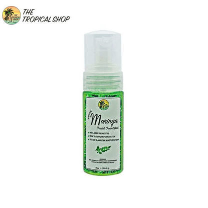 Picture of The Tropical Shop Natural Moringa Facial Foam Wash 60ml