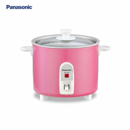 Picture of Panasonic 0.3 L Automatic Baby Rice Cooker Pink SR-3NA