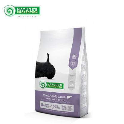 Picture of Nature's Protection Adult Mini Lamb Dog Food 7.5kg