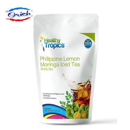 Picture of Healthy Tropics Philippine Lemon Moringa Iced Tea Drink Mix