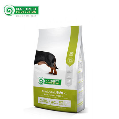 Picture of Nature's Protection Mini Adult Dog Food 2kg