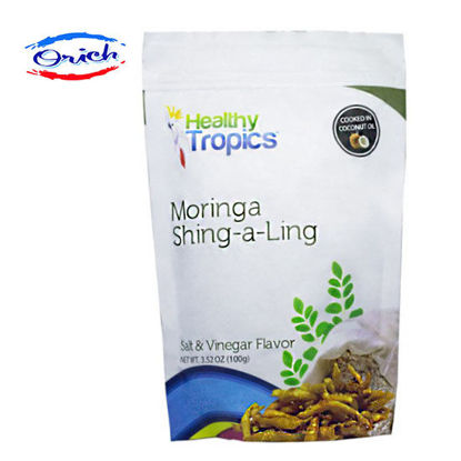 Picture of Healthy Tropics Moringa Shing A Ling Salt and Vinegar Flavor