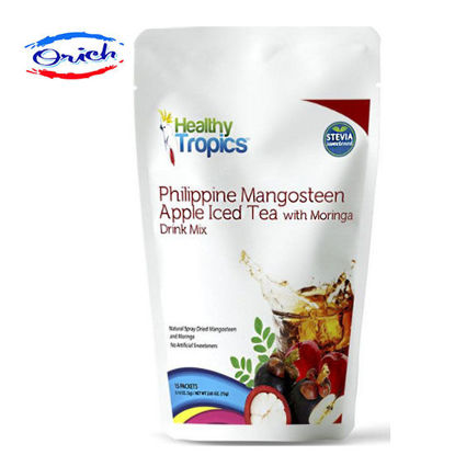 Picture of Healthy Tropics Philippine Mangosteen Apple Iced Tea Drink Mix