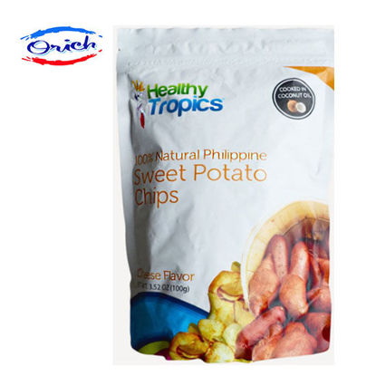 Picture of Healthy Tropics Sweet Potato Chips Cheese Flavor