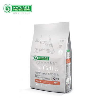 Picture of Nature's Protection SC White Dog Grain Free Salmon Adult Small and Mini Breed 1.5K
