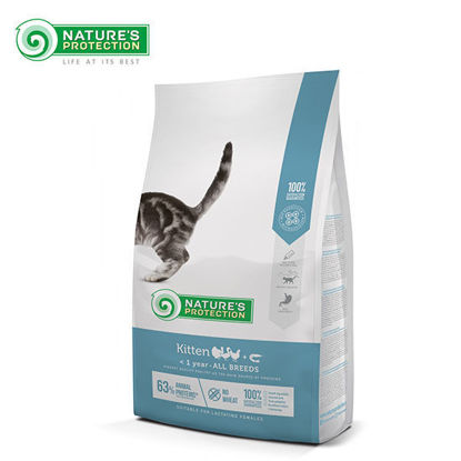 Picture of Nature's Protection Kitten Cat Food 2kg