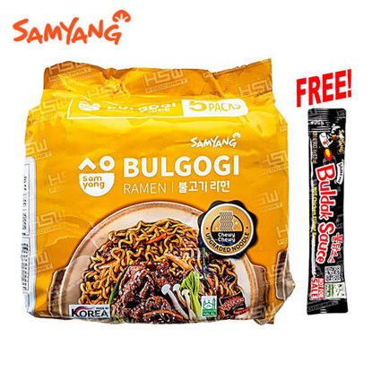 Picture of Samyang Bulgogi Ramen Stirfried Ndle 80G 5S