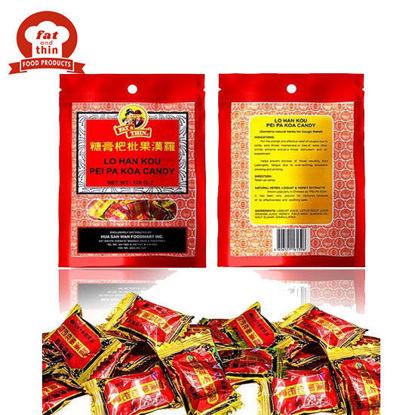 Picture of Fat & Thin Lo Han Pei Pa Koa Candy 120G