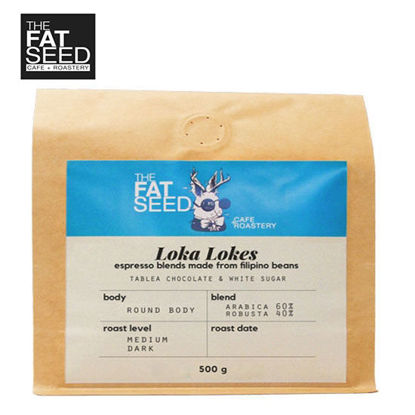 Picture of Loka Lokes 60% Specialty Arabica 40% Fine Robusta Blend 500G