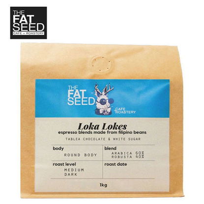 Picture of Loka Lokes 60% Specialty Arabica 40% Fine Robusta Blend 1Kg