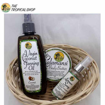 Picture of The Tropical Shop Basket A with FREE FACIAL TONER