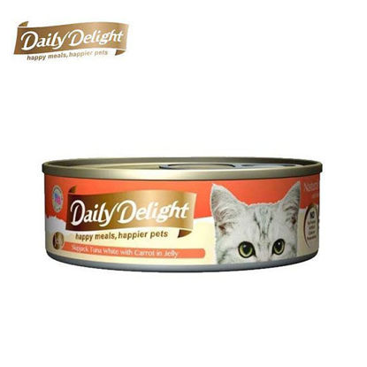 Picture of Daily Delight Skipjack Tuna White with Carrot in Jelly 80g